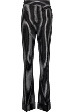 Victoria Beckham Pinstripe wool-blend pants