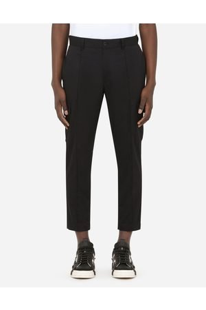 Dolce & Gabbana Men Trousers - Trousers and Shorts - STRETCH COTTON CARGO PANTS male 46