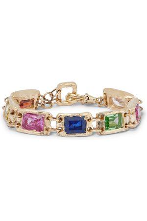 Bleue Burnham The Rose 9-Karat Sapphire Bracelet