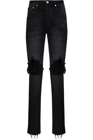 Purple Brand Wash Blowout slim-leg jeans