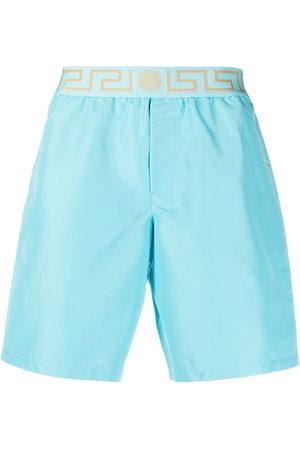 VERSACE Greca waistband swimming shorts