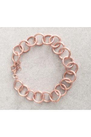 Pomegranate Jaisalmer Link Chain Bracelet Rose