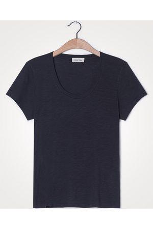 American Vintage Jacksonville U-Neck Carbon Grey T-Shirt