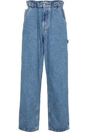 Miu Miu High-rise straight jeans