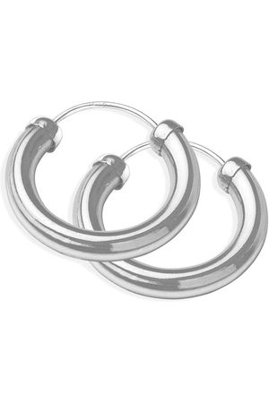 The Love Silver Collection The Love 18Mm Chunky Tube Hoops