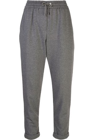 Brunello Cucinelli Women Trousers - Tapered jogging bottoms