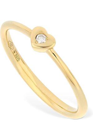 VANZI Women Rings - 18kt & Diamond Heart Ring