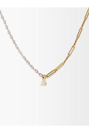 YVONNE LÉON Diamond & 18kt Necklace - Womens