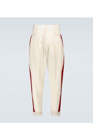 Maison Margiela Gabardine cotton pants