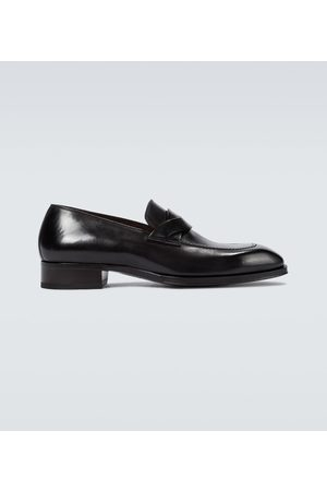 Tom Ford Elkan twisted band loafers