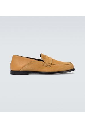 Loewe Slip-on suede loafers