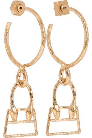 Jacquemus Les Creoles Chiquita hoop earrings