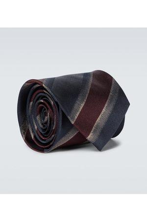DRIES VAN NOTEN Men Ties - Striped silk tie