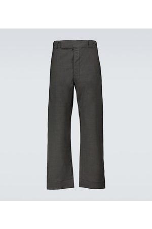 Prada Men Wide Leg Trousers - Wide-leg pants