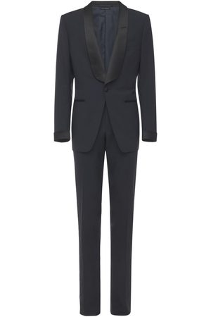 Tom Ford Plain Weave Evening Wool Suit
