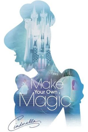 Disney Princess Filled Silhouette Cinderella Women's T-Shirt