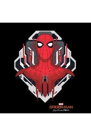 Marvel Spider-Man Far From Home Web Tech Badge Men's T-Shirt