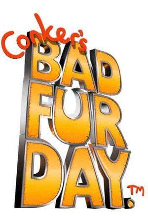 Rare Fashion Conker Bad Fur Day T-Shirt