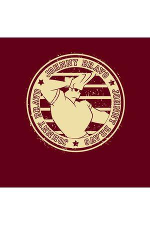 Cartoon Network Johnny Bravo Sports Badge Men's T-Shirt
