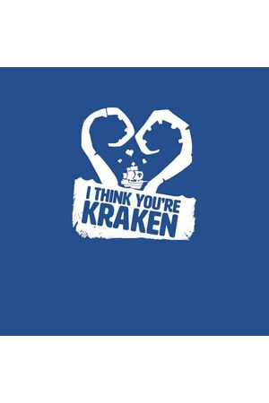 Rare Fashion Sea Of Thieves I Think You're Kraken Tee T-Shirt