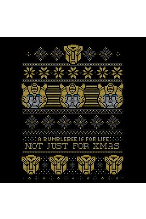 TRANSFORMERS Bumblebee Classic Ugly Knit Women's Christmas T-Shirt
