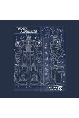 TRANSFORMERS Women Sweatshirts - Optimus Prime Schematic Women's Sweatshirt
