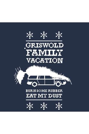 National Lampoons National Lampoon Griswold Vacation Ugly Knit Women's Christmas Sweatshirt
