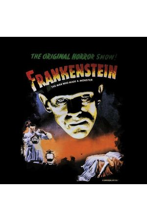 Universal Monsters Frankenstein Vintage Poster Women's Sweatshirt