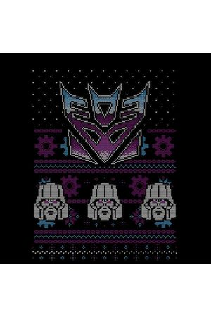 TRANSFORMERS Decepticons Classic Ugly Knit Women's Christmas Sweatshirt