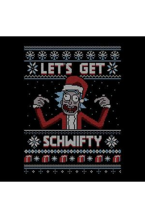 Rick and Morty Lets Get Schwifty Women's Christmas Sweatshirt