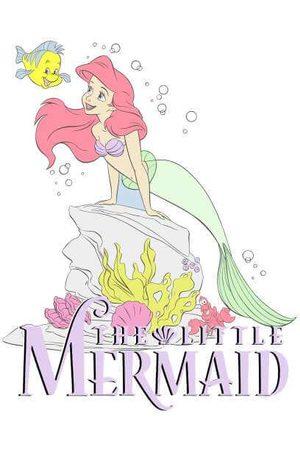 Disney Little Mermaid Women's Sweatshirt