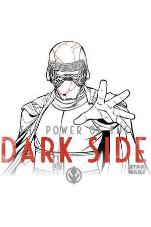 STAR WARS The Rise Of Skywalker Kylo Darkside Powers Women's Sweatshirt
