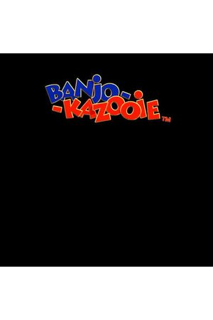 Rare Fashion Banjo Kazooie Logo T-Shirt