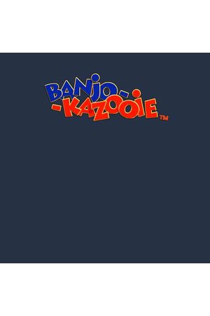 Rare Fashion Banjo Kazooie Logo Hoodie