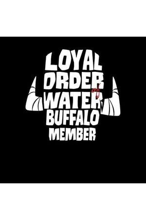 Hanna Barbera The Flintstones Loyal Order Of Water Buffalo Member Women's Sweatshirt