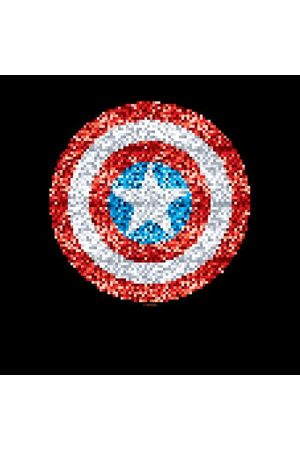 Marvel Captain America Pixelated Shield Women's Sweatshirt