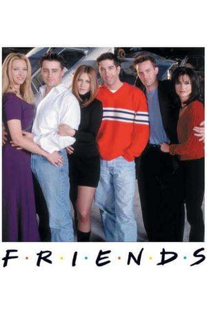 Friends Cast Pose Women's Sweatshirt