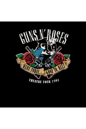 Guns N´Roses Here Today... Gone To Hell Men's T-Shirt