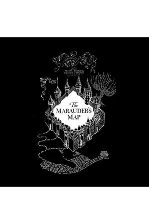 Harry Potter The Marauder's Map Women's T-Shirt