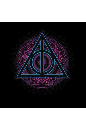 Harry Potter Deathly Hallows Neon Women's T-Shirt
