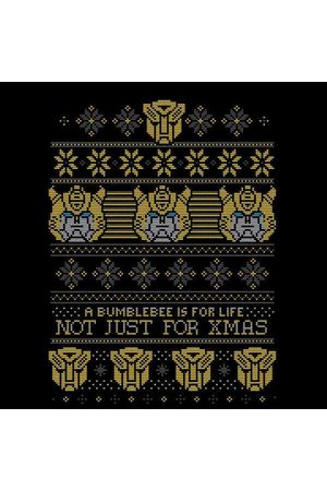 TRANSFORMERS Bumblebee Classic Ugly Knit Women's Christmas Sweatshirt