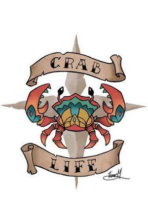 Rare Fashion Sea of Thieves Crab Life T-Shirt