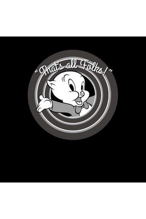 LOONEY TUNES That's All Folks Porky Pig Women's Sweatshirt