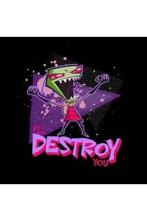 Nickelodeon Invader Zim I'll Destroy You Men's T-Shirt