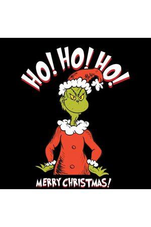 Dr. Seuss The Grinch Ho Ho Ho Smile Women's Christmas T-Shirt