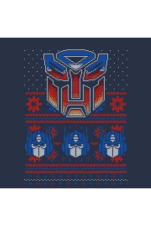 TRANSFORMERS Autobots Classic Ugly Knit Women's Christmas Sweatshirt