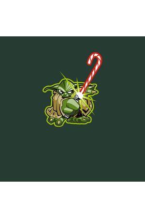 STAR WARS Candy Cane Yoda Women's Christmas T-Shirt
