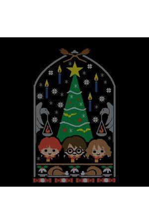 Harry Potter Hogwarts Tree Women's Christmas T-Shirt