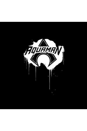 DC Justice League Graffiti Aquaman Women's Sweatshirt