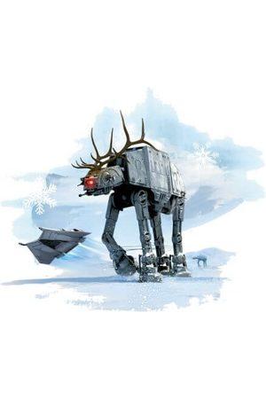STAR WARS AT-AT Reindeer Women's Christmas T-Shirt